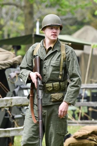 WWII Reenactor