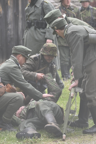 Helping the Wounded