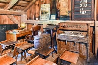 Barn's Second Floor Houses a School