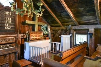 Second Floor of the Barn Houses a Church