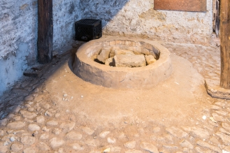 Cistern - Note the Stone Floor